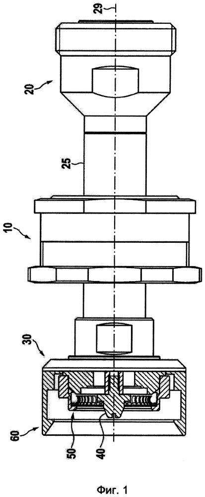 Тестовый интерфейс коаксиального разъема с низкой пассивной интермодуляцией