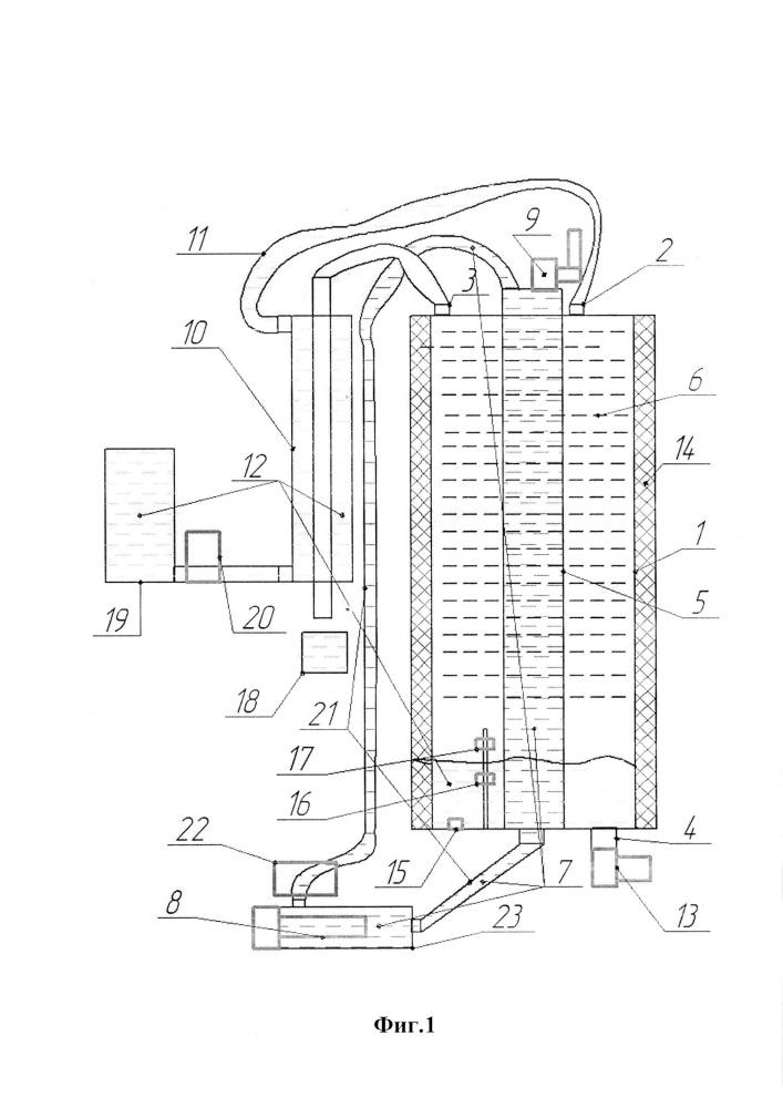 Способ разделения жидкости на фракции и устройство для его осуществления