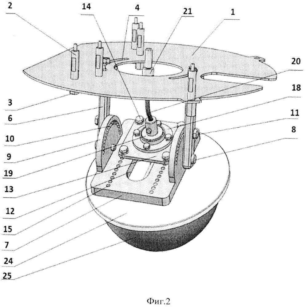 Устройство перемещения и вращения подложкодержателя