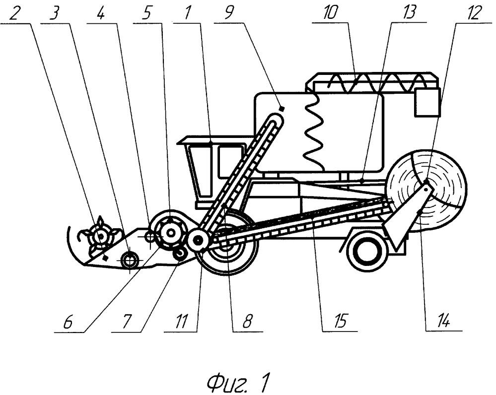 Многофункциональный агрегат для уборки сельскохозяйственных культур