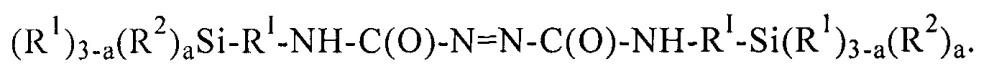 Функционализованные азокарбонилом силаны