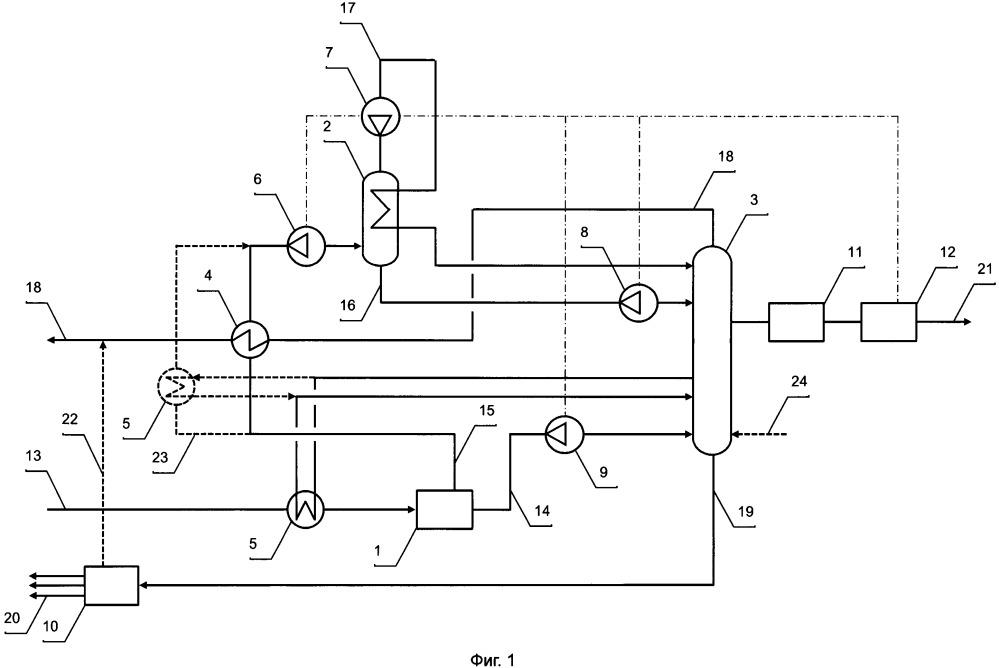Установка нтдр для комплексной подготовки газа и получения спг и способ ее работы