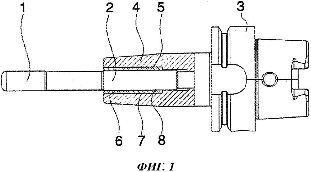 Демпфирующий элемент для системы крепления инструмента