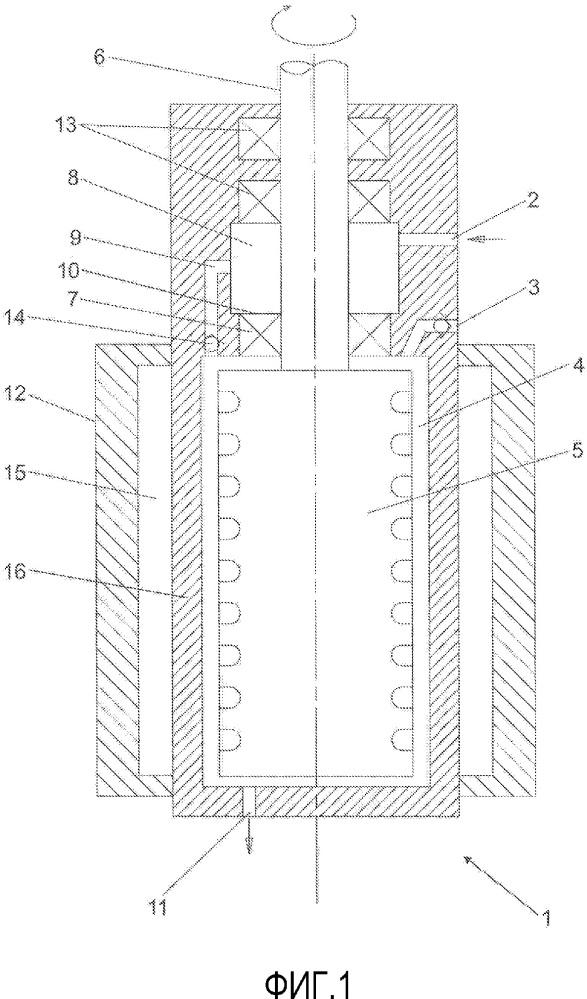 Смесительное устройство для смешивания жидкого полимерного компонента с газом