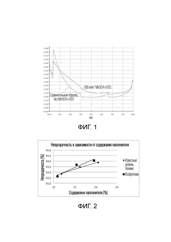 Способ увеличения непрозрачности осажденного карбоната кальция