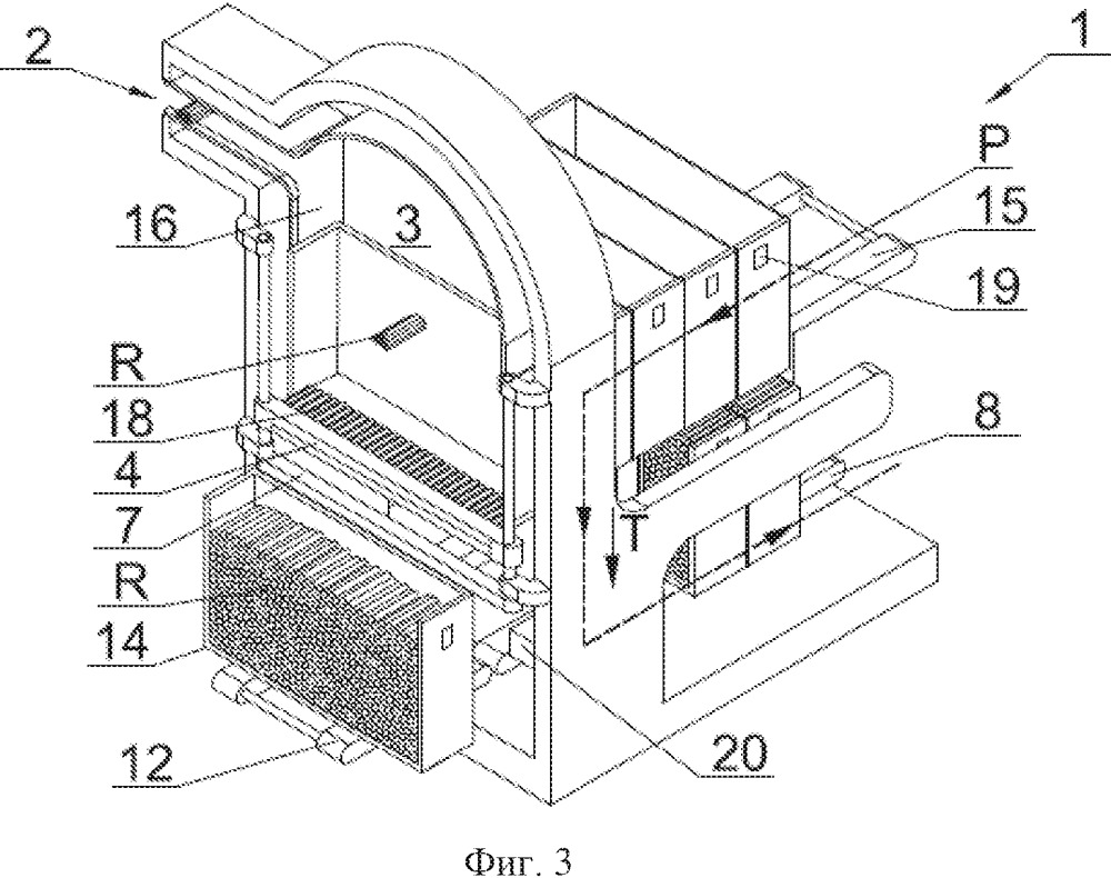 Способ и устройство наполнения транспортных контейнеров стержнеобразными изделиями табачной промышленности