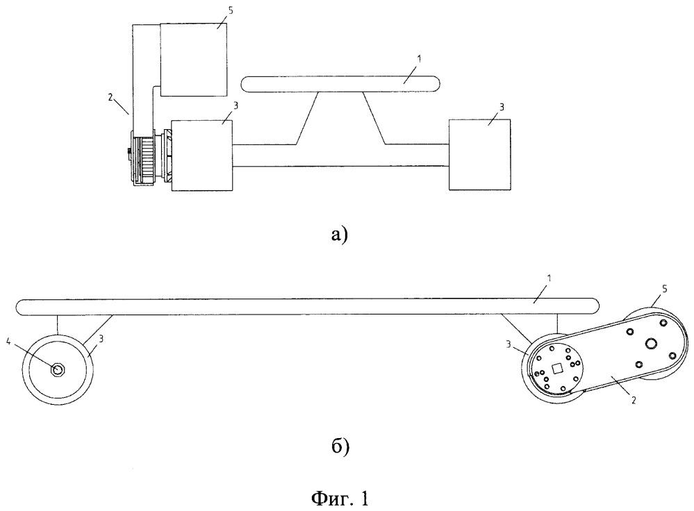 Электропривод для роликовой доски и электролонгборд