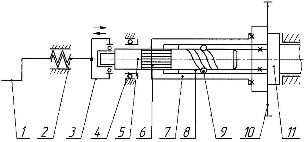 Устройство для бесступенчатого принудительного изменения углового положения кулачкового вала при стендовых испытаниях двигателя