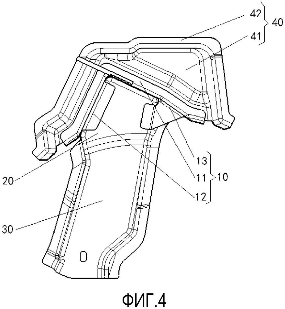 Узел кронштейна крепления ремня безопасности, используемый для задних сидений, и транспортное средство