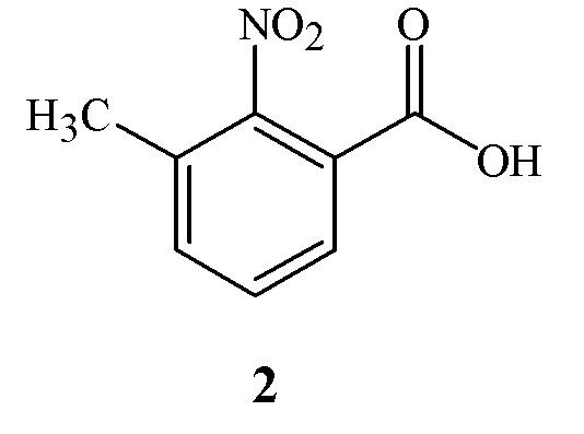 Способ получения 3-метил-2-нитробензойной кислоты посредством окисления воздухом