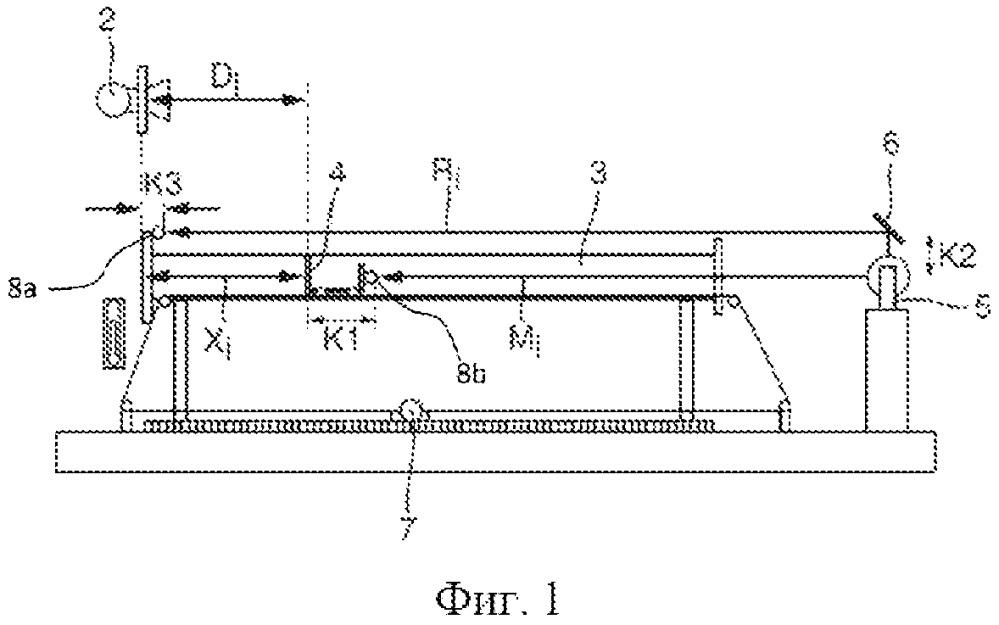 Калибровочное устройство для калибровки, по меньшей мере, одного устройства для измерения расстояния