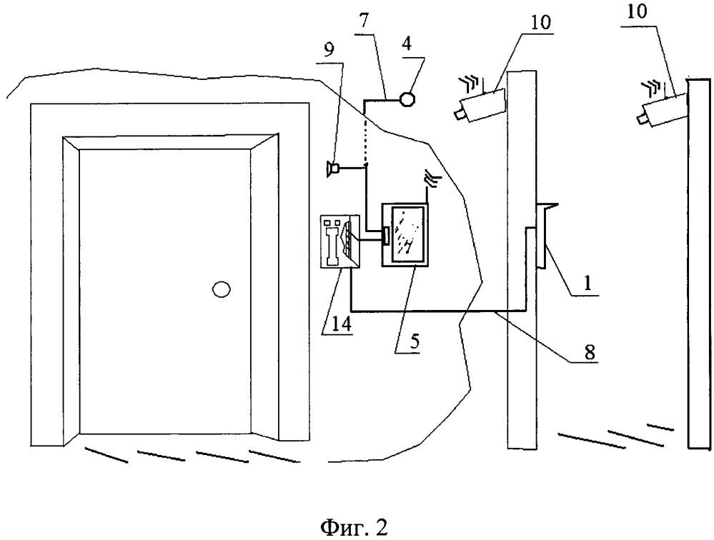 Способ и система обеспечения видеодомофонной трансляции изображения с камер наблюдения на базе штатной системы домофонной связи