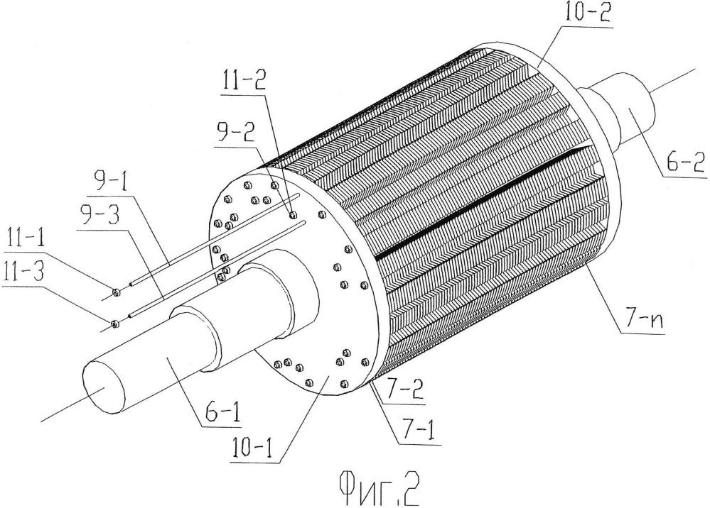 Синхронная электрическая машина с анизотропной магнитной проводимостью ротора