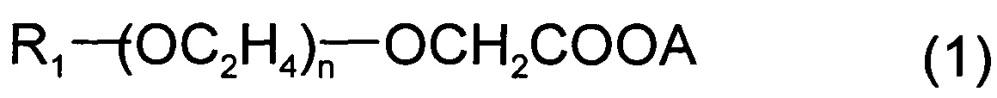 Композиция, содержащая ассоциацию анионного и амфолитического полимера