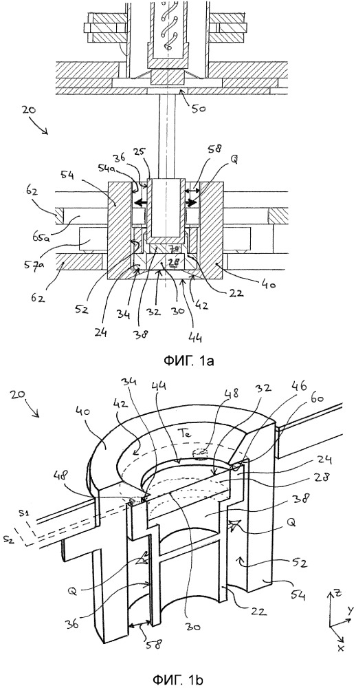 Катодное устройство, электронная пушка и установка литографии, содержащая такую электронную пушку