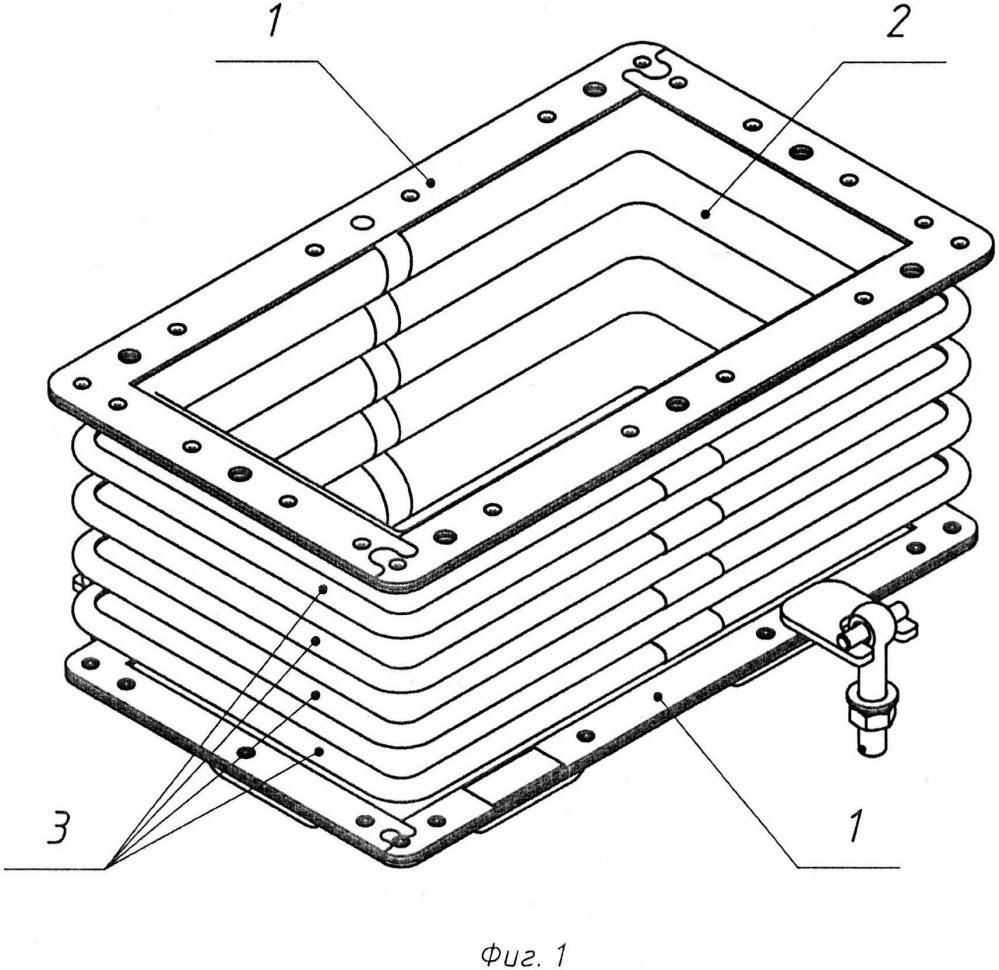 Воздуховод для системы охлаждения и вентилирования тяговых электродвигателей локомотивов
