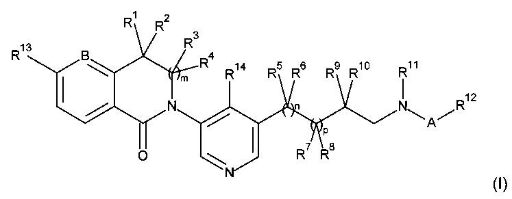 Новые 3,4-дигидро-2н-изохинолин-1-оны и 2,3-дигидро-изоиндол-1-оны