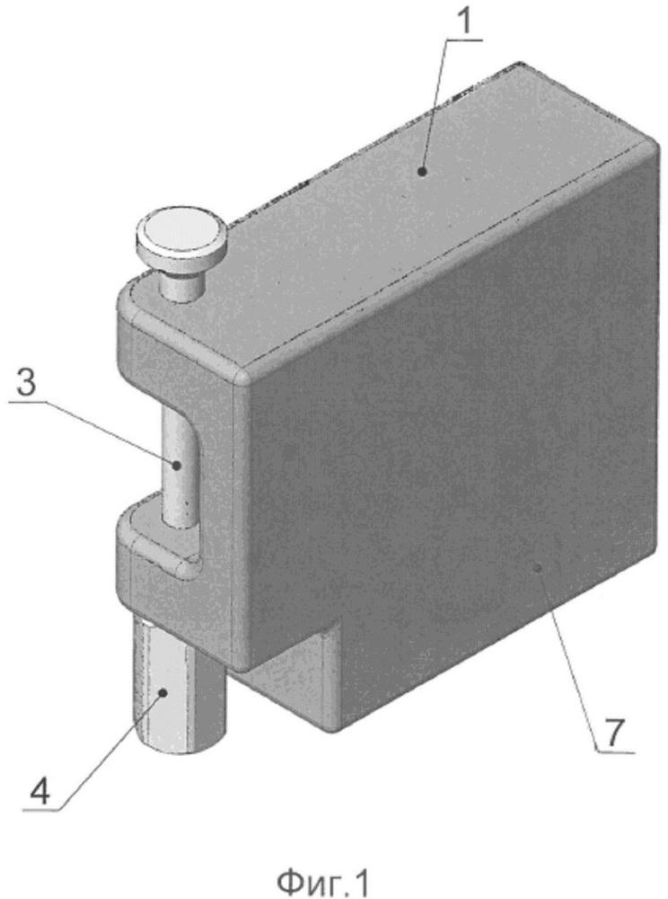 Электронный модуль стержневого запорно-пломбировочного устройства
