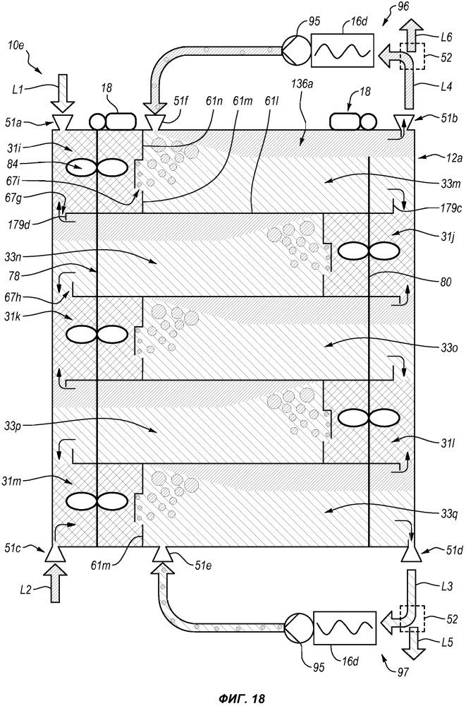 Система жидкостно-жидкостной очистки образца с акустическим осаждением