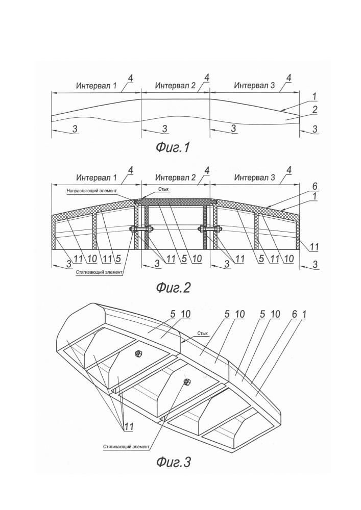 Способ изготовления крупногабаритной формовочной оснастки из композиционного материала для объемного изделия