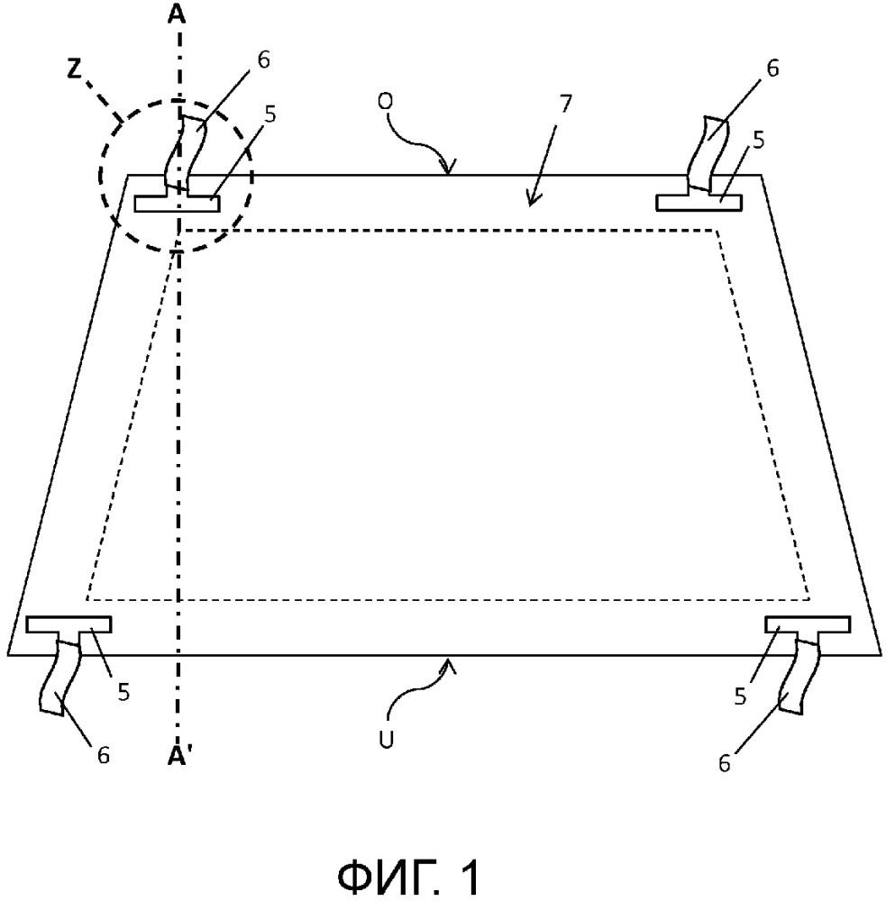 Многослойное стекло для транспортного средства с интегрированным датчиком света
