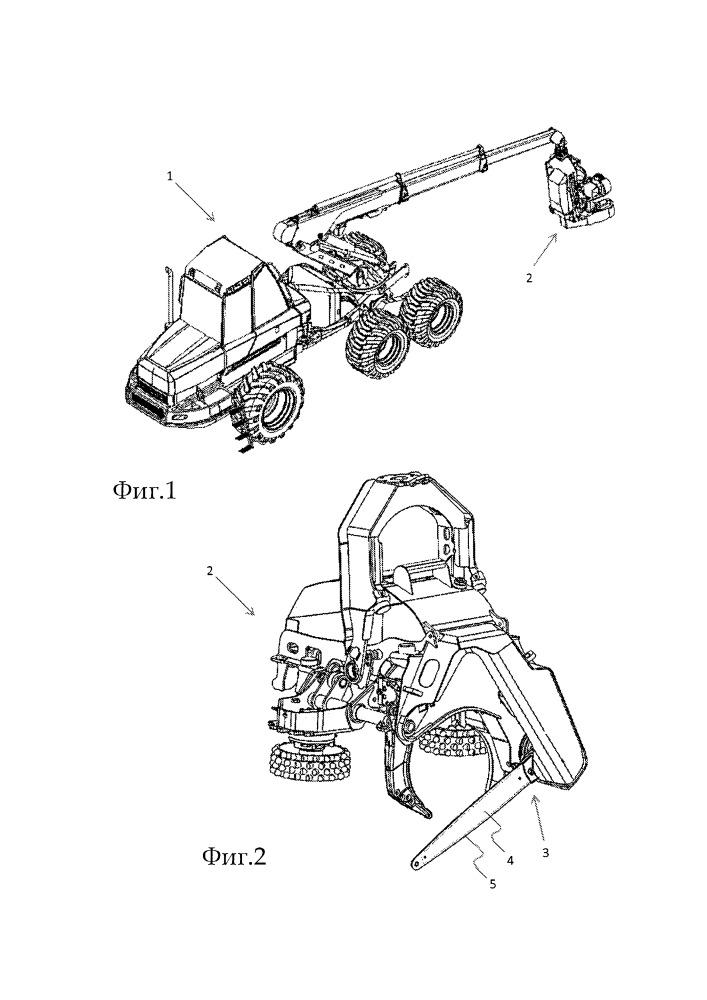 Конструкция для подачи текучей среды к направляющей шине цепной пилы