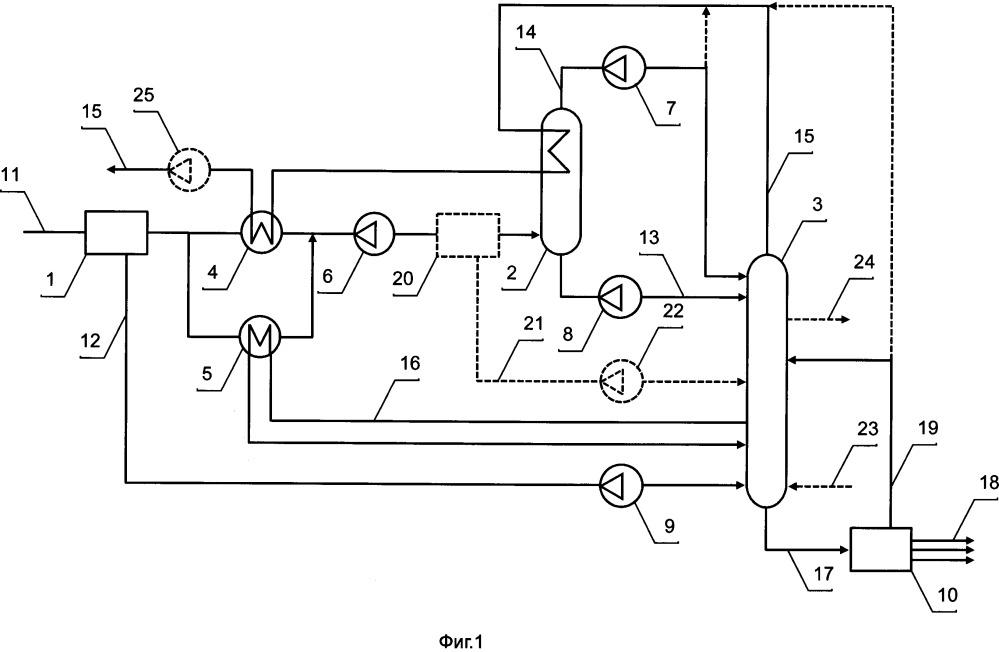 Установка нтдр для безотходной комплексной подготовки газа