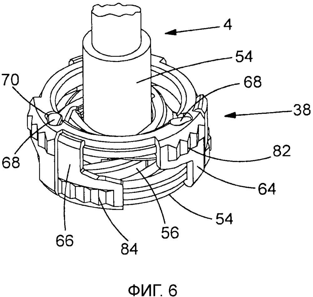 Зажимное приспособление для кабеля