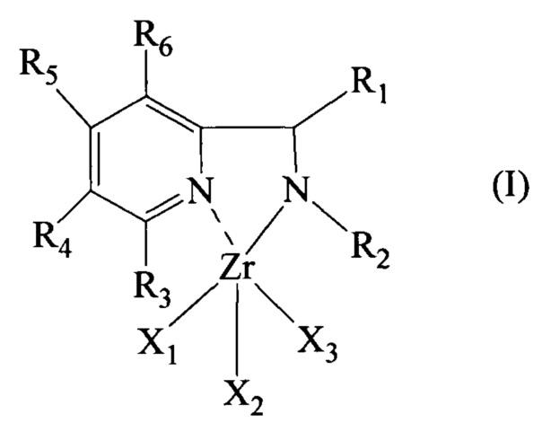 Пиридиновый комплекс циркония, каталитическая система, включающая указанный пиридиновый комплекс циркония, и способ (со)полимеризации сопряженных диенов