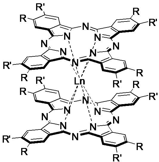 Способ получения сэндвичевых бис(фталоцианинатов) и/или трис(фталоцианинатов) редкоземельных элементов