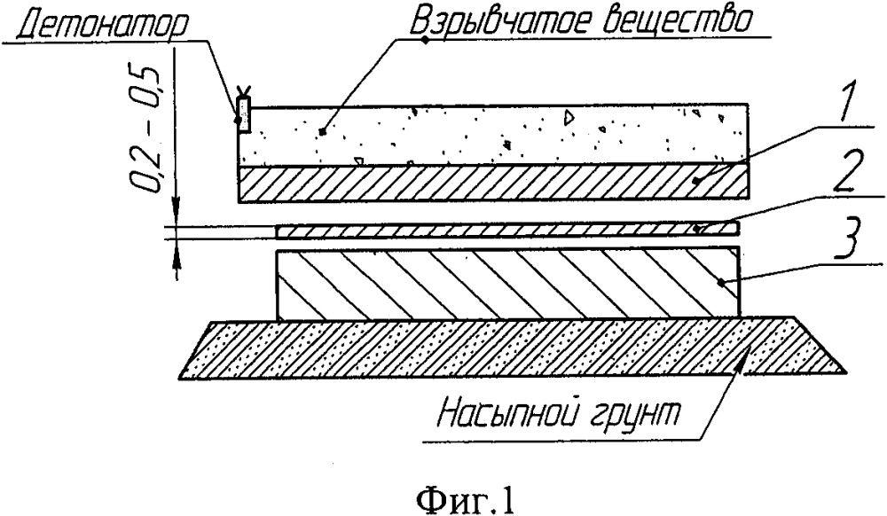 Способ получения соединения антифрикционного сплава со сталью сваркой взрывом