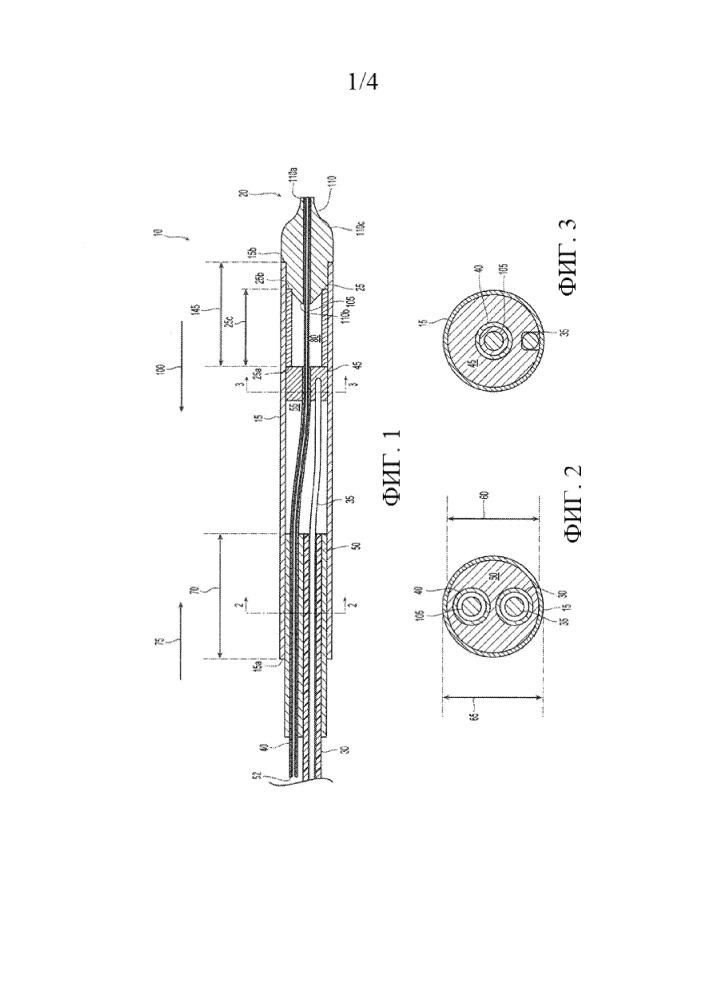 Деформируемый кончик для доставки стента и способы применения