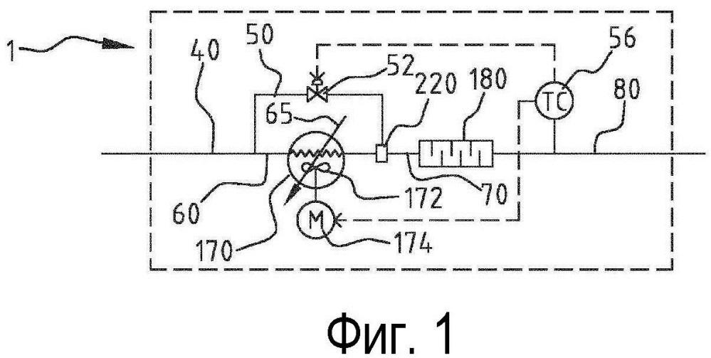 Система пароохладителя, система компримирования, использующая такую систему, и способ получения сжатой и по меньшей мере частично сконденсированной смеси углеводородов