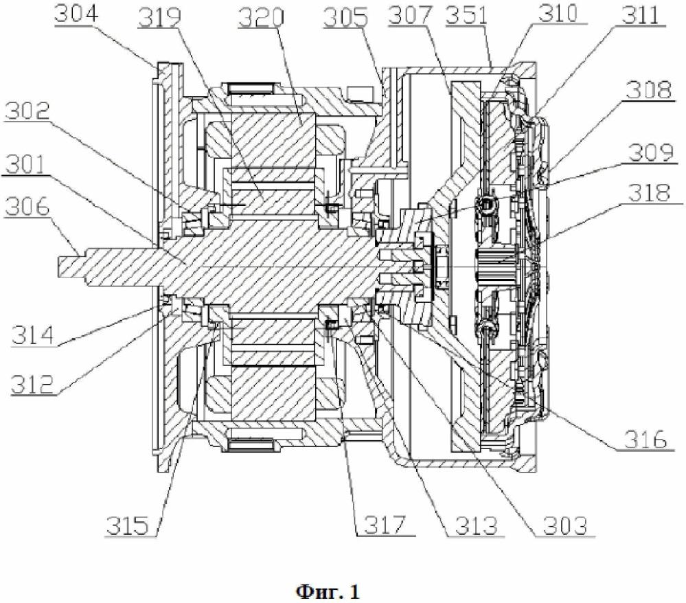 Система силовой передачи передвижной электростанции