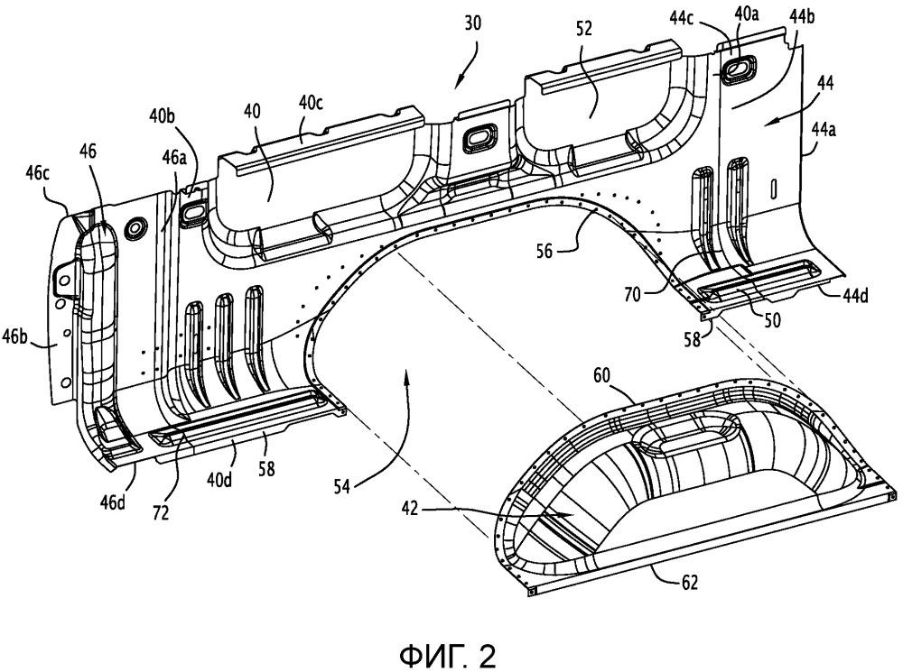 Конструктивная деталь автомобиля и способ ее изготовления