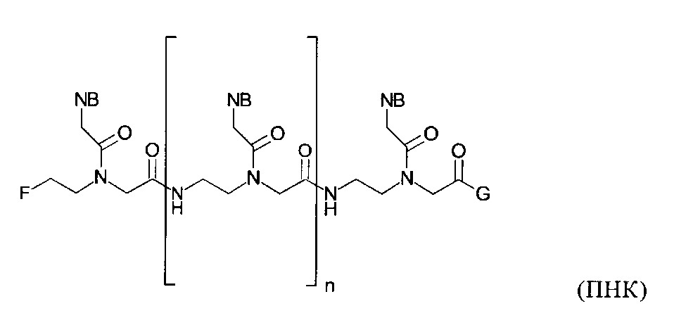 Новые мономеры и олигомеры пептидных нуклеиновых кислот