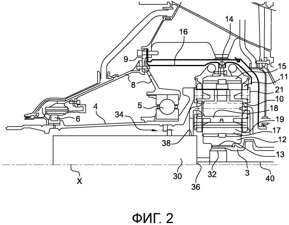Турбомашина и система передачи вращающего момента для турбомашины