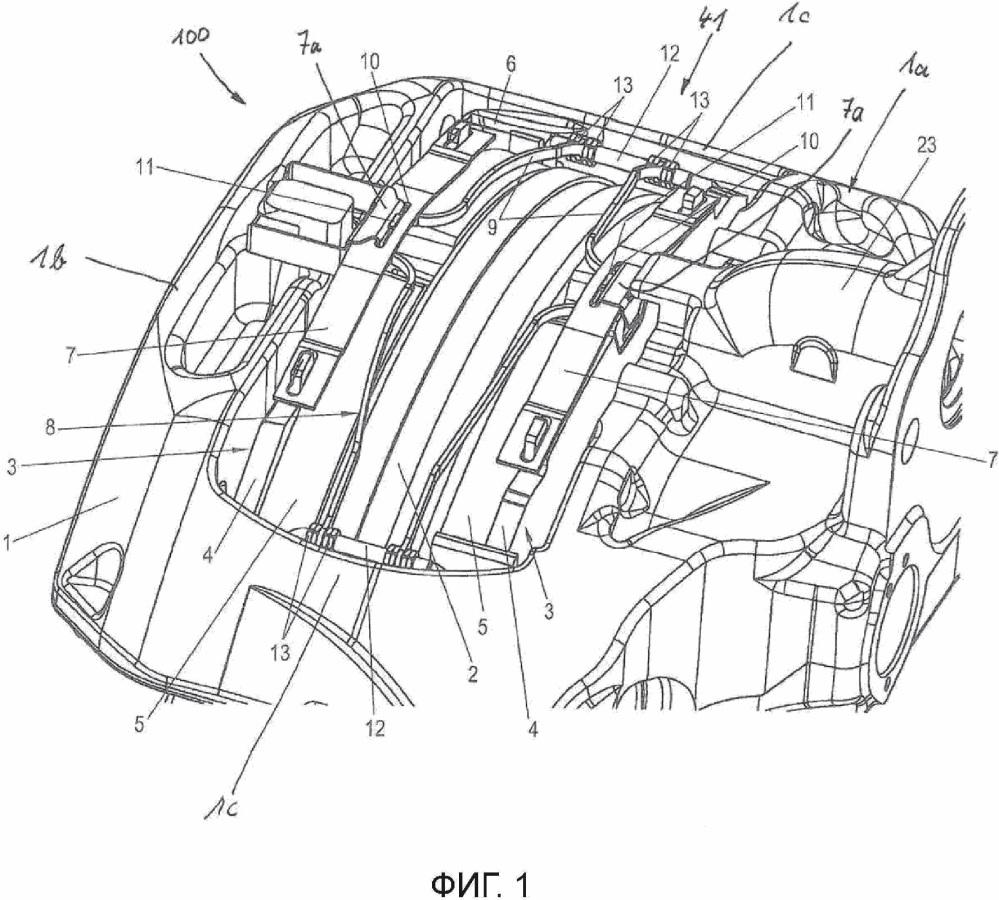 Дисковый тормозной механизм для коммерческого транспортного средства и комплект тормозных колодок