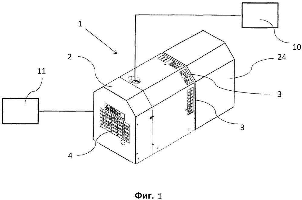 Способ охлаждения компрессора или вакуумного насоса и компрессор или вакуумный насос, в котором применяют такой способ