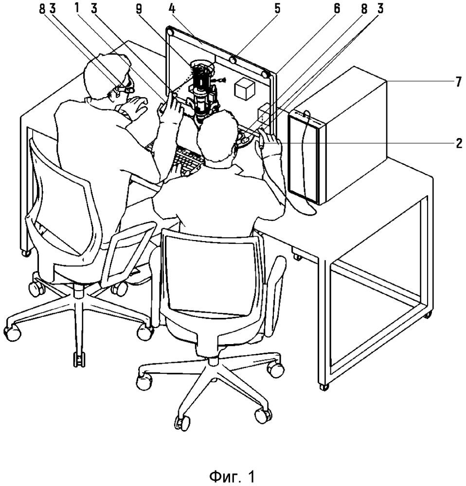 Способ и устройство для управления трехмерными объектами в виртуальном пространстве