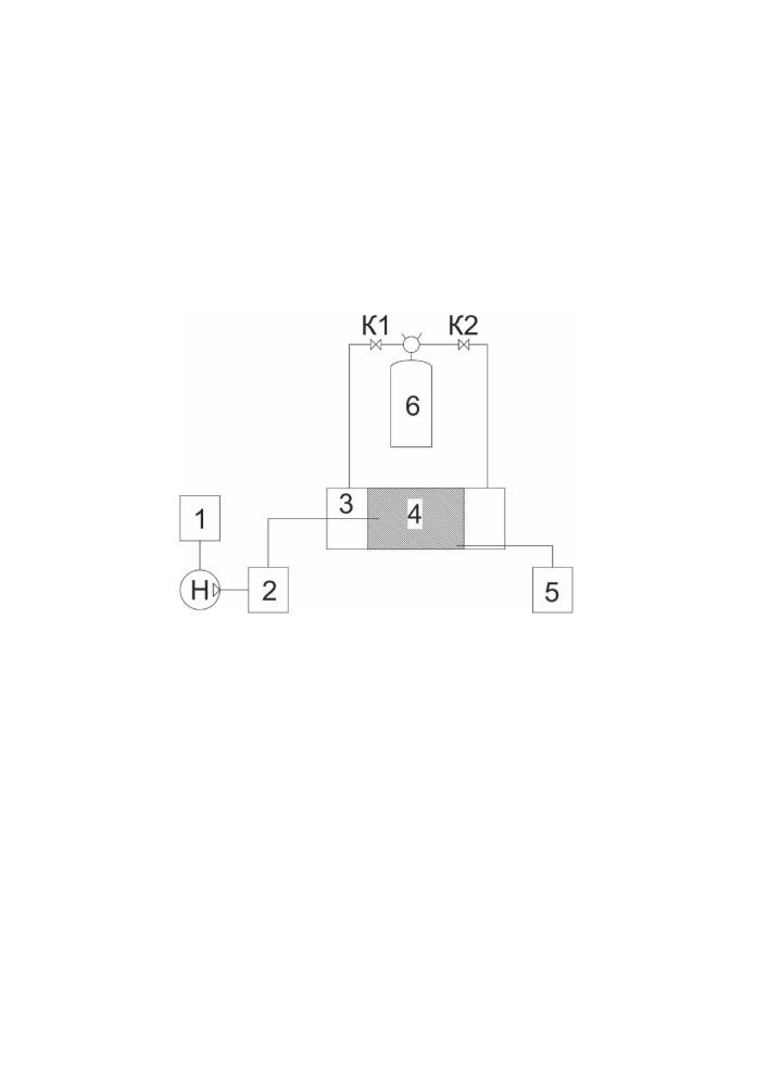 Способ лабораторного определения коэффициента извлечения нефти с использованием технологий закачки пара