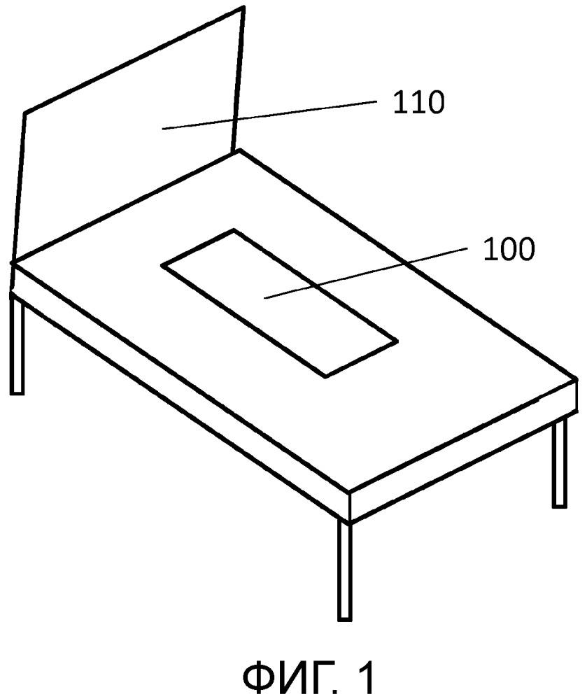 Сенсорное устройство для измерения влажности и определения присутствия человека на опорной конструкции