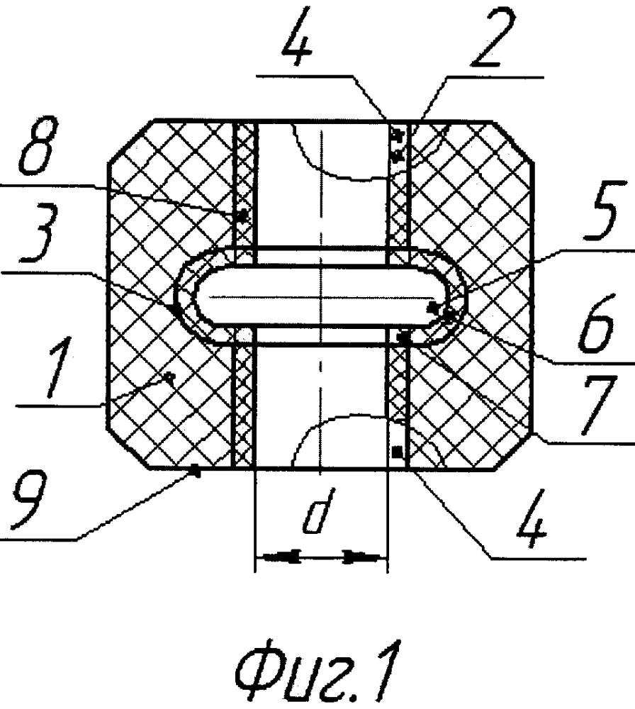 Уплотнительный узел пакерной установки