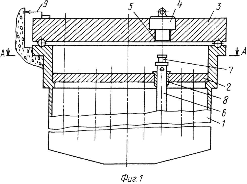 Техническое устройство для контактно-дуговой вырезки и осушения пеналов с дефектными отработавшими тепловыделяющими сборками