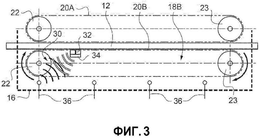 Способ измерения требуемого параметра внутри мата из минерального или растительного волокна
