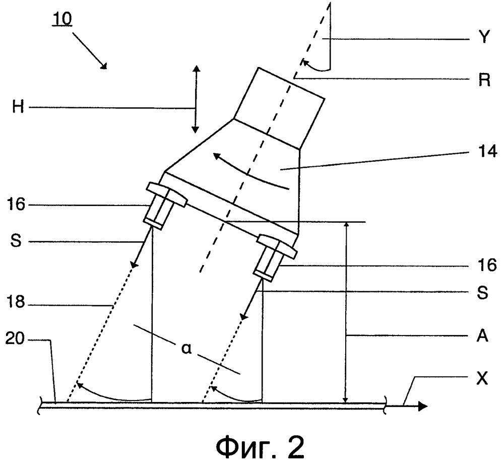 Устройство и способ удаления окалины с движущейся заготовки