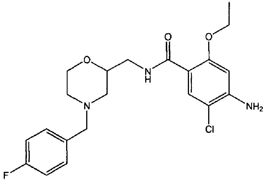 Комбинированный препарат мозаприда и рабепразола