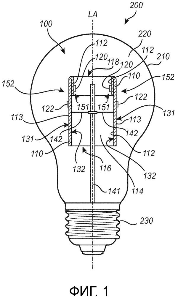 Световой модуль и световое устройство, содержащее световой модуль