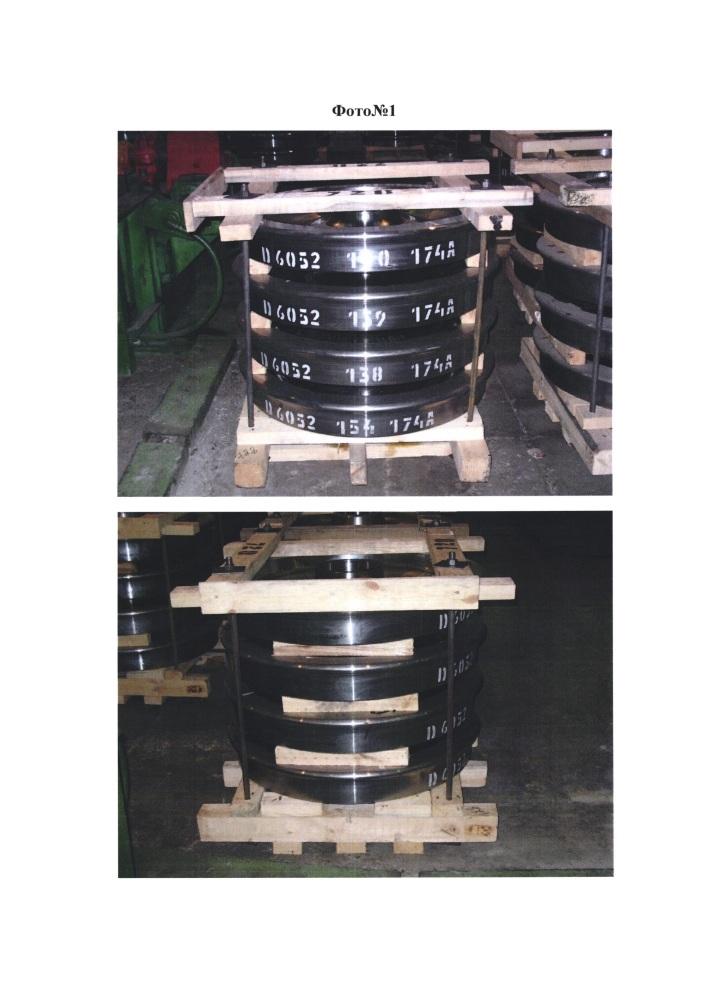Способ упаковки железнодорожных колес и упаковка для его осуществления (варианты)