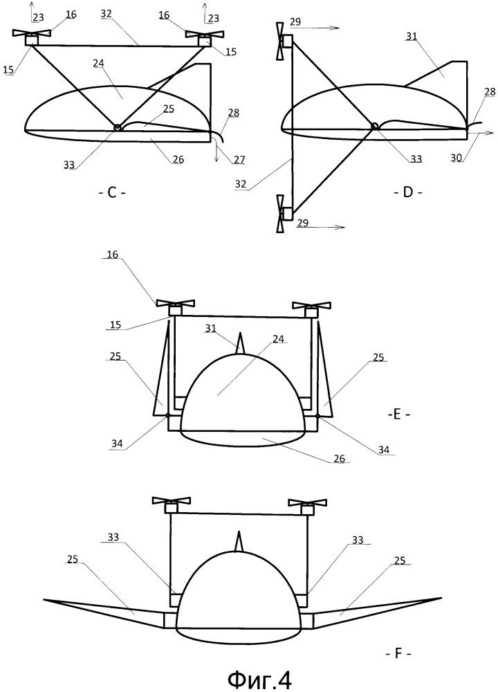 Дозвуковая авиационная гибридная силовая установка и многофункциональный летательный аппарат криштопа (варианты)